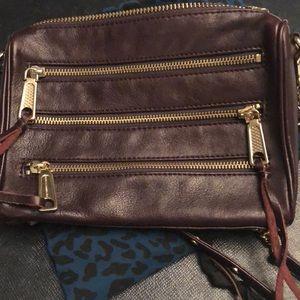 Rebecca Minkoff Moro 3 zip crossbody bag